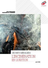 Le Livre Blanc de l'Incinération des déchets ménagers