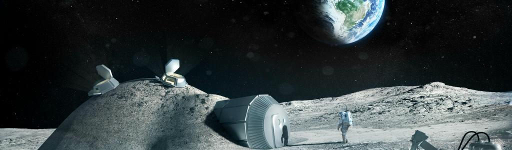 Établir une base dans l'espace grâce à l'impression 3D !
