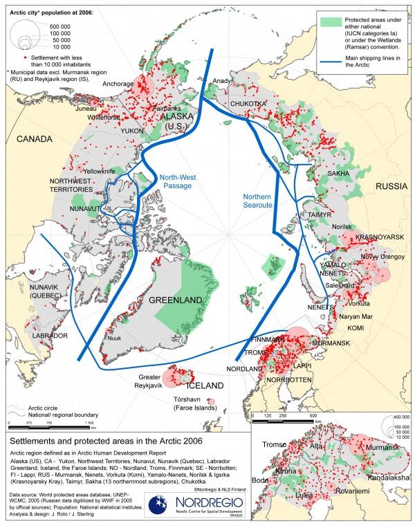 Peuples indigènes et zones protégées de l'Arctique