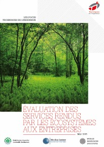 Biomimétisme, évaluation des services rendus par les écosystèmes aux entreprises