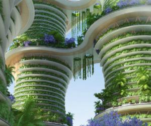 Hyperions : l'éco-quartier le plus ambitieux au monde
