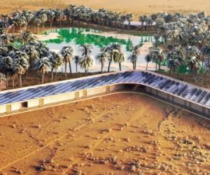 Energie solaire : un complexe hôtelier en plein désert