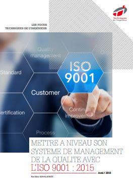 Mettre à niveau son système de management de la qualité avec l'ISO 9001 : 2015