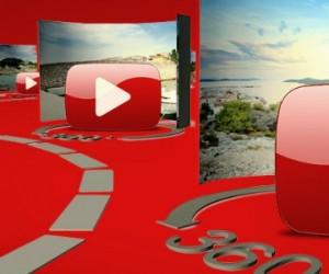"""YouTube lance des vidéos en live à 360 degrés, avec un son """"spatialisé"""""""