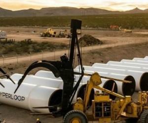 Premier test réussi pour Hyperloop !