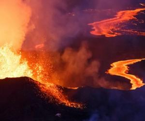 Les éruptions volcaniques influencent durablement le climat dans l'Atlantique nord