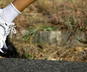 Porter des baskets peut entraver la course à pied