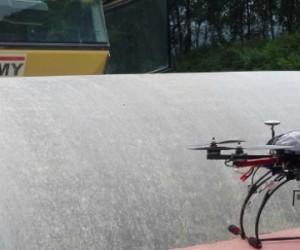Les drones, au service du BTP, des mines et des carrières