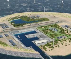 Vers la création d'une île artificielle en mer du Nord?