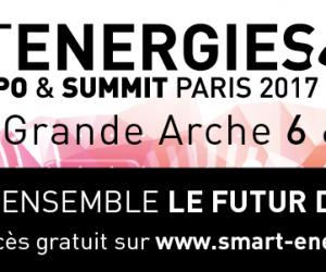 Votre invitation sur SMART ENERGIES 2017 Expo & Summit, les 6 et 7 juin 2017
