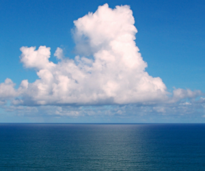 Des microplastiques en suspension dans l'air marin de l'Atlantique