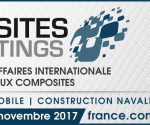 Le rendez-vous de référence pour les matériaux composites, COMPOSITES MEETINGS  se déroule les 8 et 9 novembre à Nantes