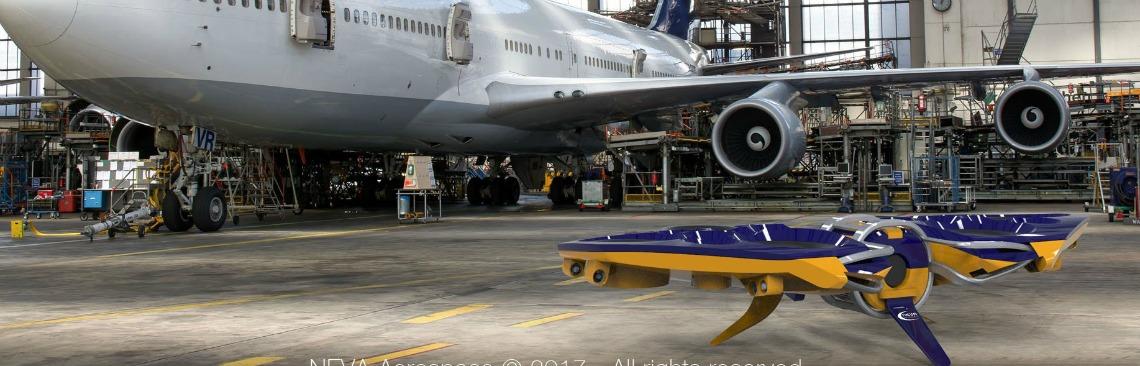Neva Aerospace : des drones qui portent des charges de 2 tonnes !