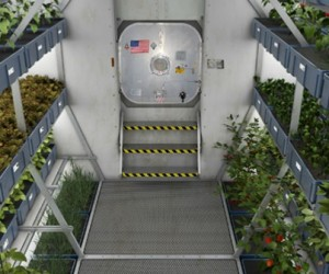 Des fermes spatiales dans plus de 150 ans
