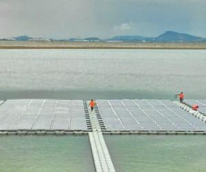 Ciel & Terrefait flotter l'énergie solaire
