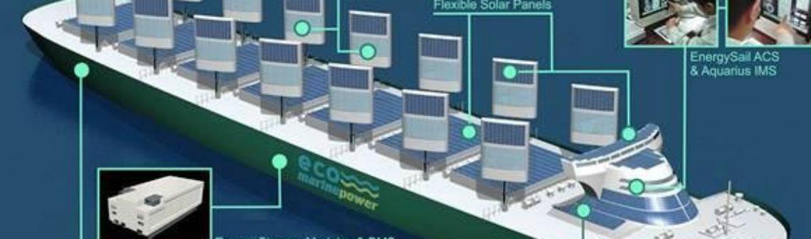 Japon : une voile solaire pour réduire les émissions de gaz à effet de serre dans le transport maritime