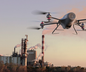 SKEYETECH : Un drone intelligent pour sécuriser les sites industriels
