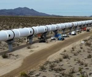 L'Hyperloop propulsé sur le devant de la scène