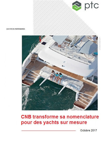 CNB transforme sa nomenclature pour des yachts sur mesure