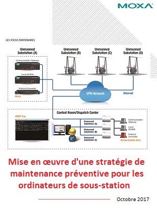 Mise en œuvre d'une stratégie de maintenance préventive pour les ordinateurs de sous-station