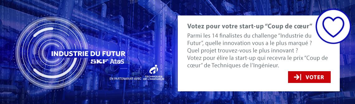 Vote start-up Coup de coeur