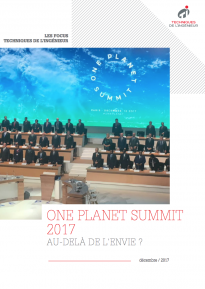One Planet Summit: Au-delà de l'envie ?