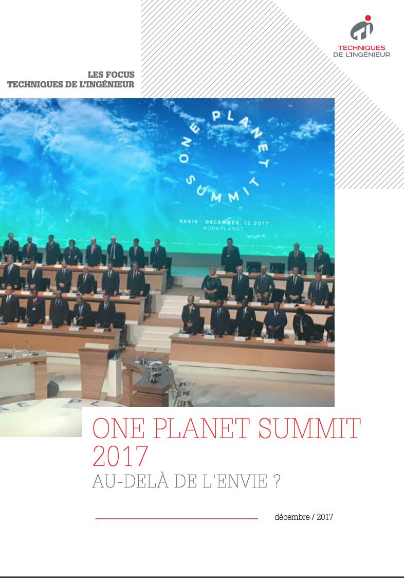 One Planet Summit: Au-delà de l'envie ?