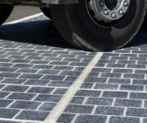 La route solaire normande produit deux fois moins d'électricité que prévu