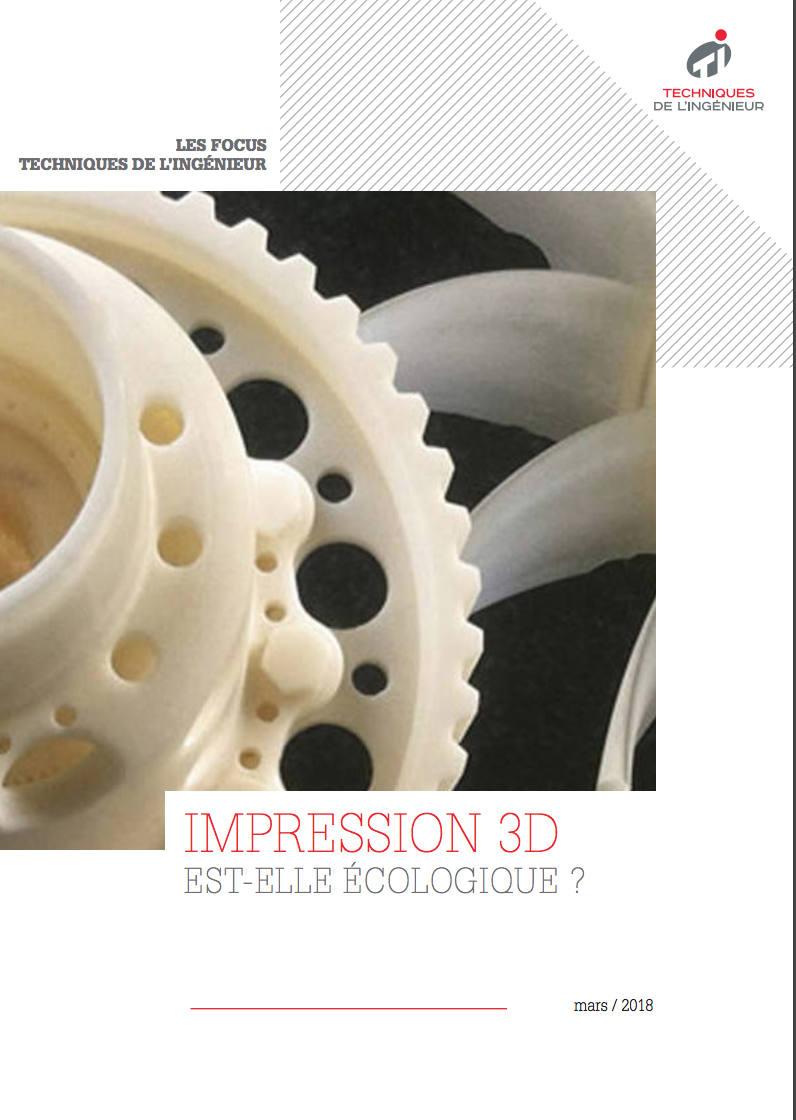 L'impression 3D est-elle écologique ?