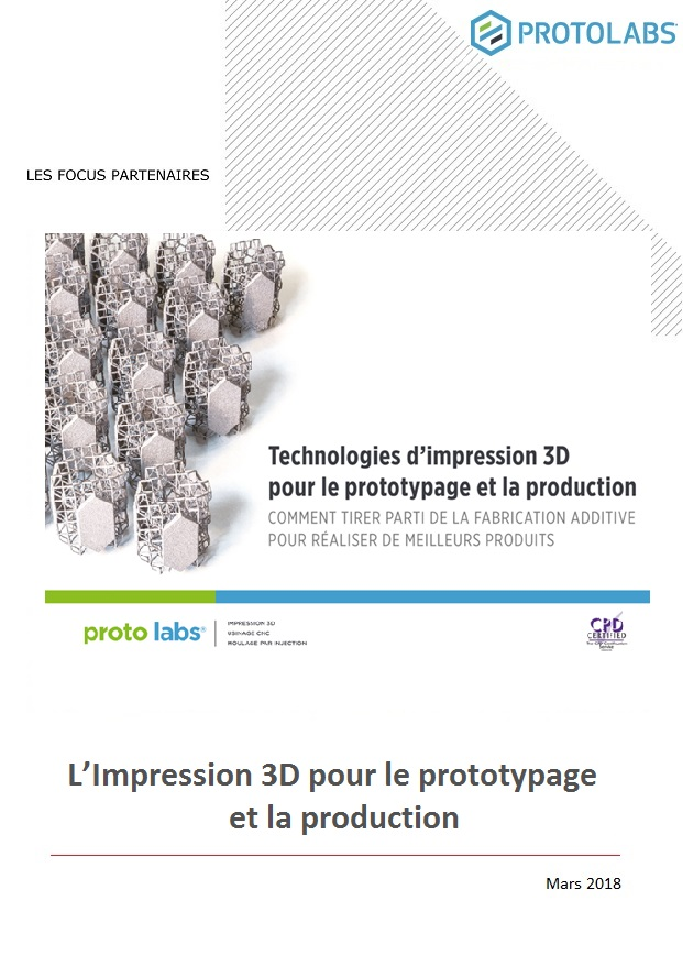 L'Impression 3D pour le prototypage et la production