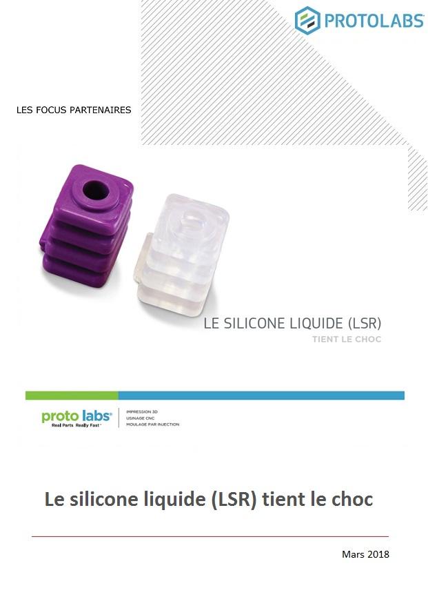 Le silicone liquide (LSR) tient le choc