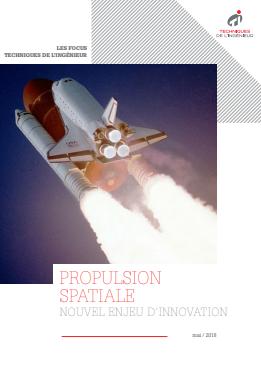 Livre blanc / La propulsion spatiale, nouvel enjeu d'innovation