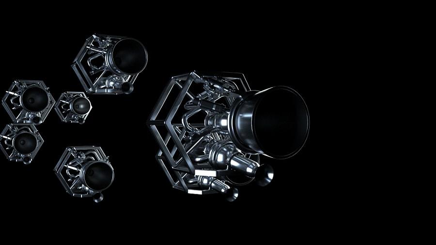 Illustration du moteur Prometheus. Prometheus (Precursor Reusable Oxygen METHane cost E!ective propUlsion System) est un moteur de rupture a tres bas cout, reutilisable et fonctionnant a l'oxygene liquide et au methane. Il possedera une poussee variable avec un maximum a 100 tonnes. Universel et bon marche, il sera utilisable sur toute une gamme de lanceurs futurs, du micro-lanceur a une evolution d'Ariane 6, en version consommable ou reutilisable si l'interet economique de la reutilisation est demontre, en moteur d'etages inferieur et superieur.