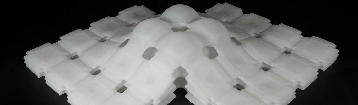 Un matériau pneumatique entièrement imprimé en 3D