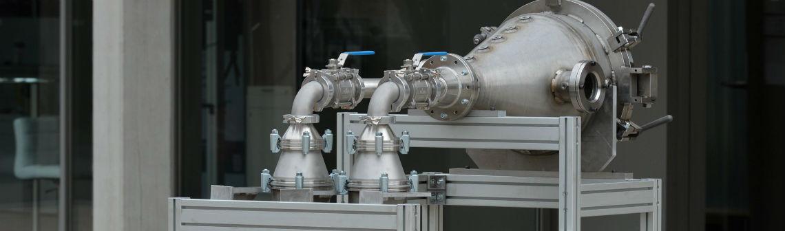 La production de particules submicroniques disponible pour l'industrie