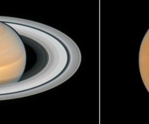 Hubble immortalise Mars et Saturne au plus proche de la Terre