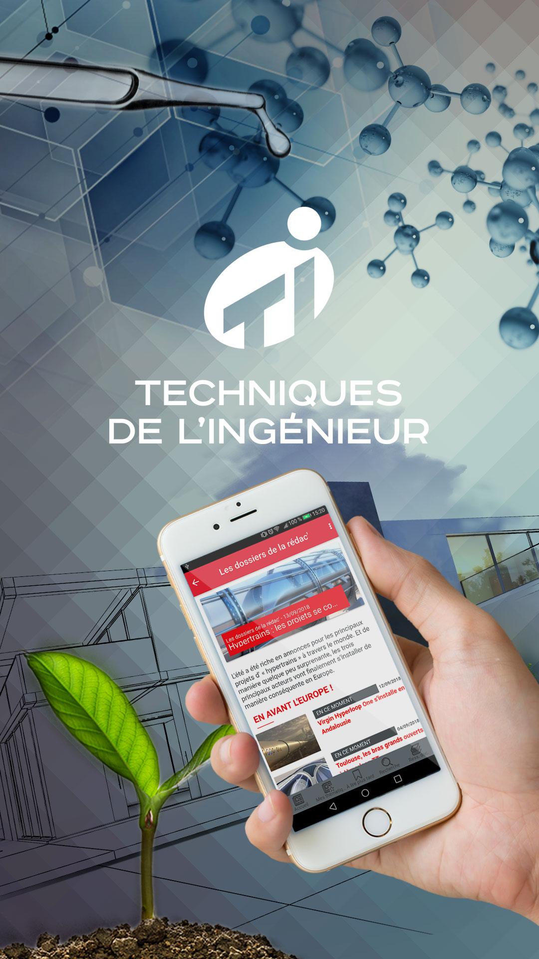 application mobile le magazine d 39 actualit d sormais dans votre poche techniques de l. Black Bedroom Furniture Sets. Home Design Ideas