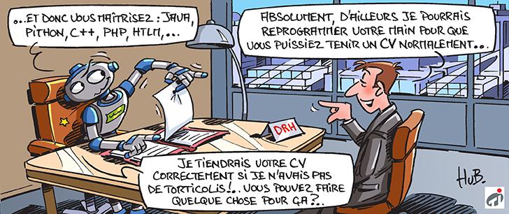 Dessin La numérisation à la rescousse des usines françaises