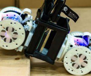 Un nouveau robot modifie sa configuration pour déjouer les obstacles