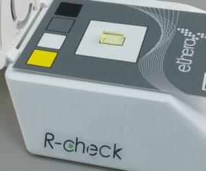 R-Check analyse le formaldéhyde intérieur en 1 heure
