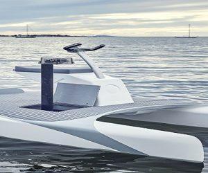 Innovation : l'Overboat, bateau à propulsion électrique robotisé