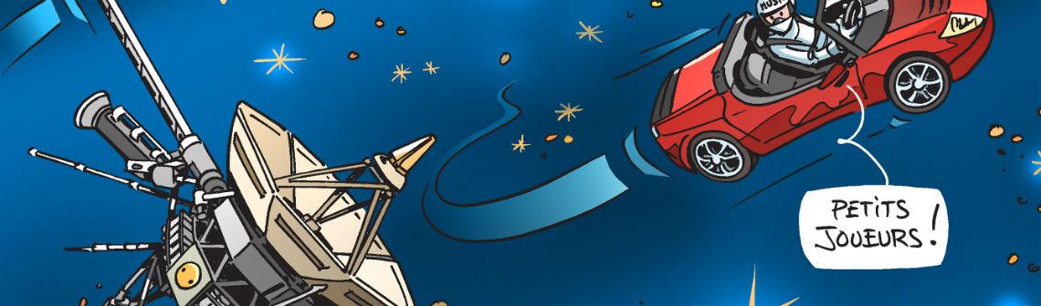 En image : la sonde Voyager 2 pénètre l'espace interstellaire