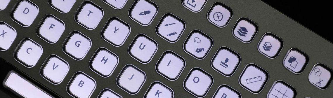 CES2019 : un clavier entièrement reconfigurable