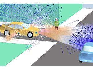 Simuler les LIDAR pour les Véhicules Autonomes