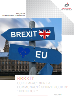 Brexit : quel impact sur la communauté scientifique et technique ? - Livre blanc