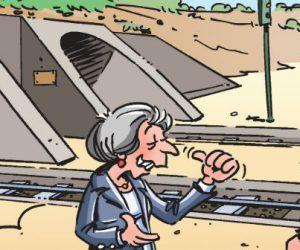 En images : Brexit, comment ça moins de projets d'envergure !?