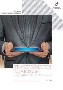 Transformation numérique : une priorité stratégique - Livre blanc