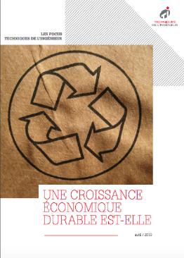 Une croissance économique durable est-elle réaliste ?
