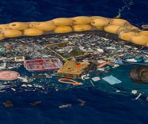 The Ocean Cleanup collecte ses premiers déchets plastiques