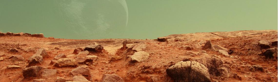 Des traces d'écoulements de boue semblables à de la lave observés sur Mars